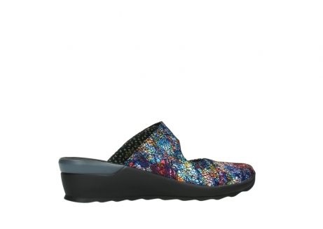 wolky clogs 02576 up 40970 multi black metallic leather_12