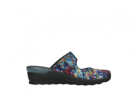 wolky clogs 02576 up 40970 multi black metallic leather_13