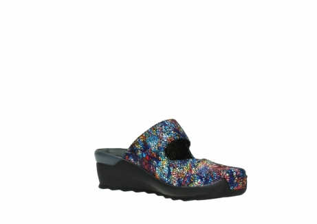 wolky clogs 02576 up 40970 multi black metallic leather_16