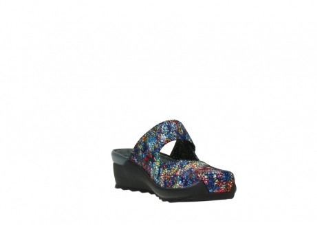 wolky clogs 02576 up 40970 multi black metallic leather_17