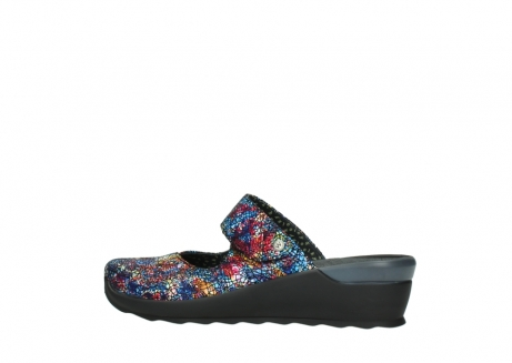 wolky clogs 02576 up 40970 multi black metallic leather_2