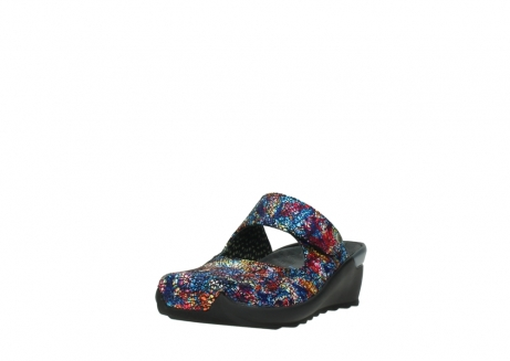 wolky clogs 02576 up 40970 multi black metallic leather_21