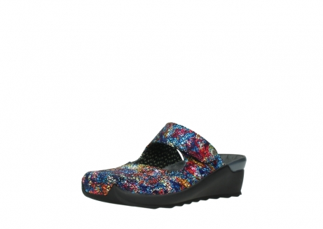 wolky clogs 02576 up 40970 multi black metallic leather_22