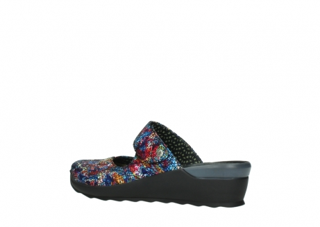 wolky clogs 02576 up 40970 multi black metallic leather_3