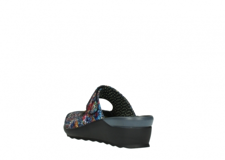 wolky clogs 02576 up 40970 multi black metallic leather_5
