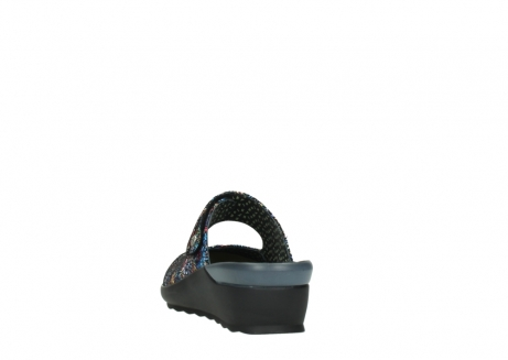 wolky clogs 02576 up 40970 multi black metallic leather_6