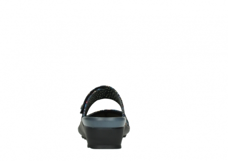 wolky clogs 02576 up 40970 multi black metallic leather_7