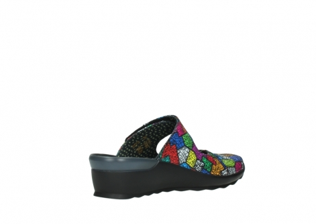 wolky clogs 02576 up 40992 picasso multi suede_10