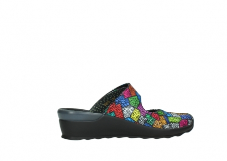 wolky clogs 02576 up 40992 picasso multi suede_12
