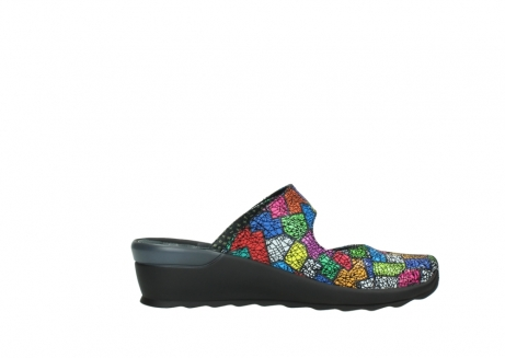 wolky clogs 02576 up 40992 picasso multi suede_13