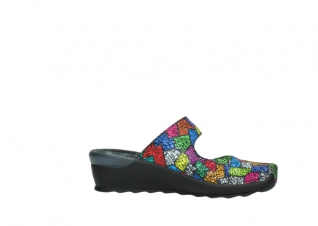 wolky clogs 02576 up 40992 picasso multi suede_14