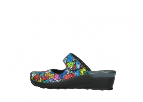 wolky clogs 02576 up 40992 picasso multi suede_2