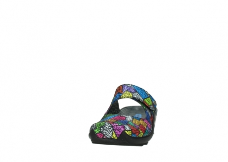 wolky clogs 02576 up 40992 picasso multi suede_20