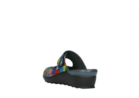 wolky clogs 02576 up 40992 picasso multi suede_5