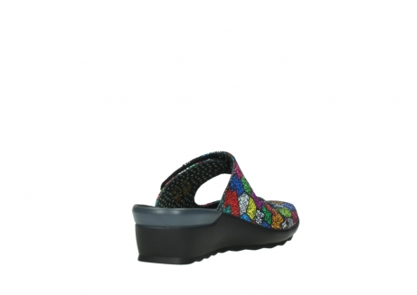 wolky clogs 02576 up 40992 picasso multi suede_9