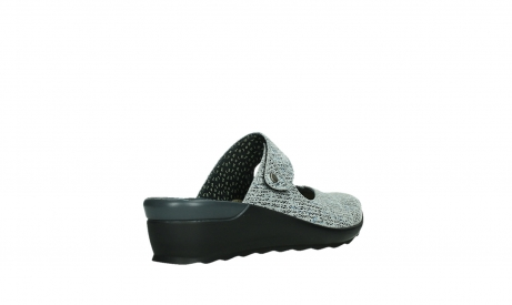 wolky clogs 02576 up 41920 grau multi suede_22