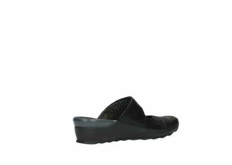 wolky clogs 02576 up 70000 schwarz canal leder_11