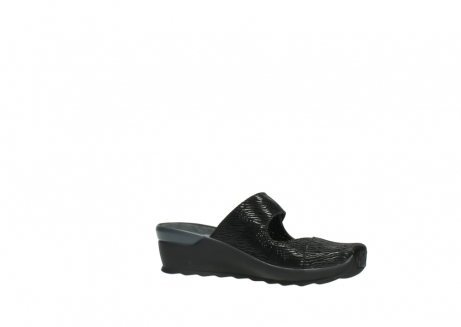 wolky clogs 02576 up 70000 schwarz canal leder_15