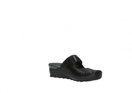 wolky clogs 02576 up 70000 schwarz canal leder_16
