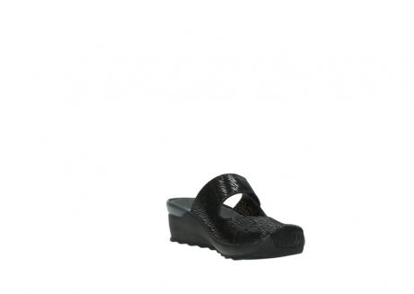 wolky clogs 02576 up 70000 schwarz canal leder_17