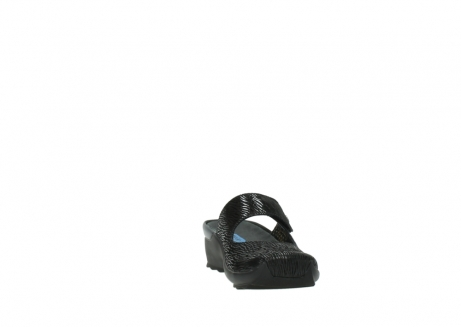 wolky clogs 02576 up 70000 schwarz canal leder_18