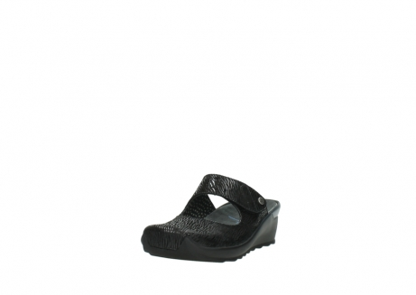 wolky clogs 02576 up 70000 schwarz canal leder_21