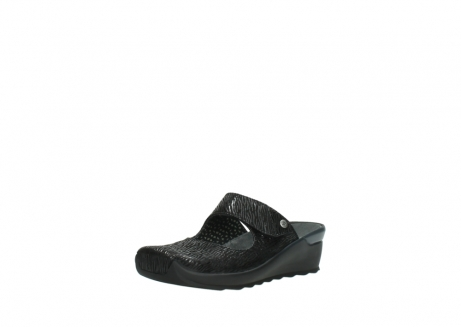 wolky clogs 02576 up 70000 schwarz canal leder_22