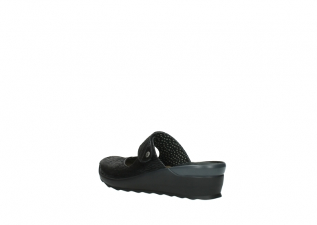 wolky clogs 02576 up 70000 schwarz canal leder_4