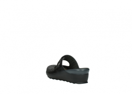 wolky clogs 02576 up 70000 schwarz canal leder_5
