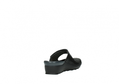 wolky clogs 02576 up 70000 schwarz canal leder_9