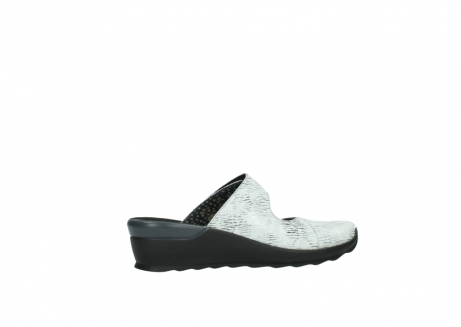 wolky clogs 02576 up 70110 white black canal leather_12
