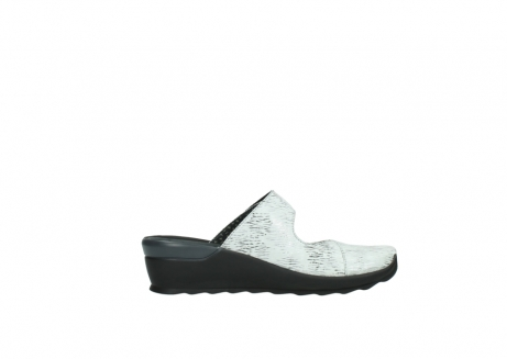 wolky clogs 02576 up 70110 white black canal leather_13