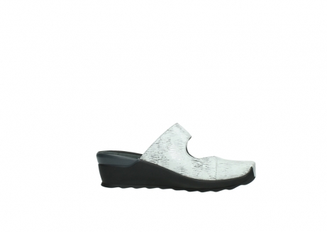 wolky clogs 02576 up 70110 white black canal leather_14