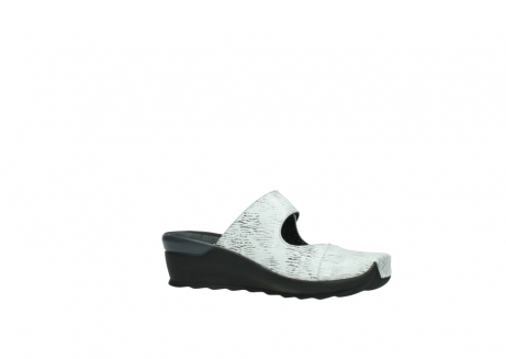 wolky clogs 02576 up 70110 white black canal leather_15
