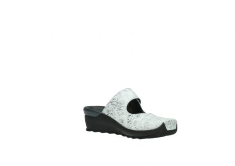wolky clogs 02576 up 70110 white black canal leather_16