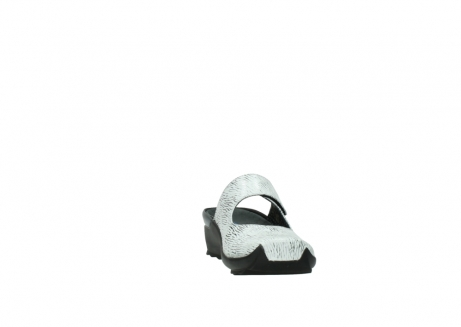 wolky clogs 02576 up 70110 white black canal leather_18
