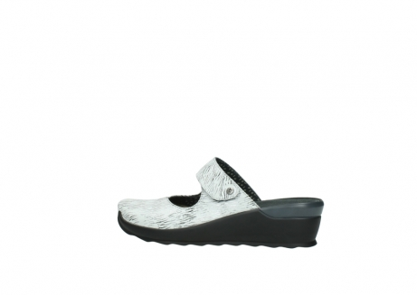 wolky clogs 02576 up 70110 white black canal leather_2