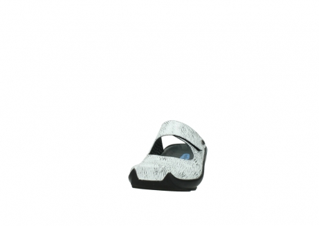 wolky clogs 02576 up 70110 white black canal leather_20