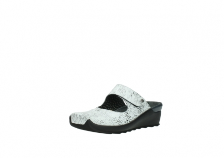 wolky clogs 02576 up 70110 white black canal leather_22