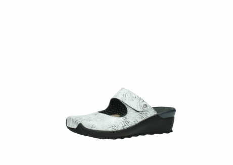 wolky clogs 02576 up 70110 white black canal leather_23