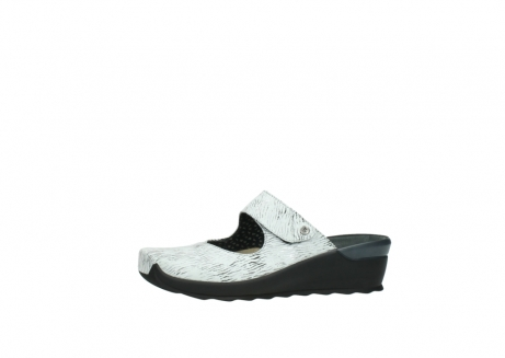 wolky clogs 02576 up 70110 white black canal leather_24