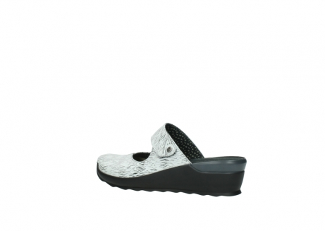 wolky clogs 02576 up 70110 white black canal leather_3