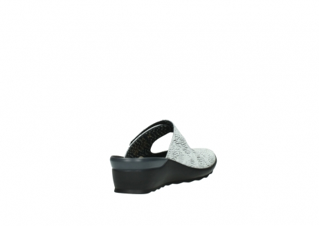 wolky clogs 02576 up 70110 white black canal leather_9