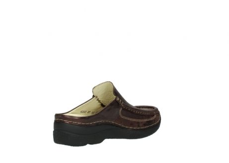 wolky clogs 06202 roll slide 10333 mocca metallic nubuk_10