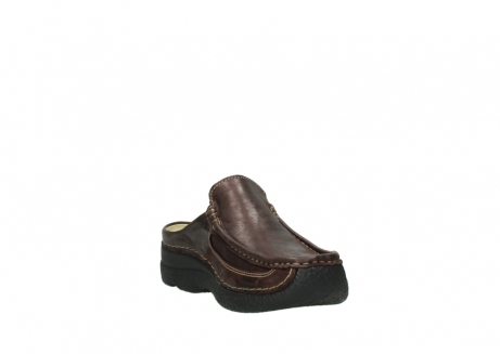 wolky clogs 06202 roll slide 10333 mocca metallic nubuk_17
