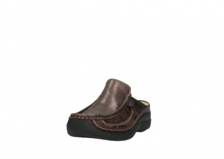 wolky clogs 06202 roll slide 10333 mocca metallic nubuk_21