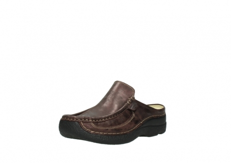 wolky clogs 06202 roll slide 10333 mocca metallic nubuk_22