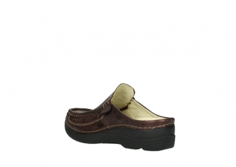 wolky clogs 06202 roll slide 10333 mocca metallic nubuk_4
