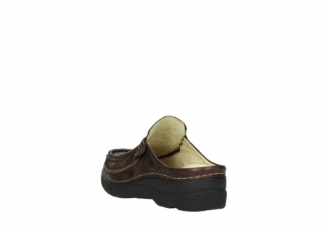 wolky clogs 06202 roll slide 10333 mocca metallic nubuk_5