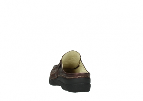 wolky clogs 06202 roll slide 10333 mocca metallic nubuk_6